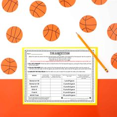 March Madness Basketball Tournament Math Project by Kristine Nannini Line Plot Worksheets, Kids Math Worksheets, Math Resources, Math Activities, Writing Algebraic Expressions, March Madness Tournament, Mean Median And Mode, Math Challenge, Math Projects
