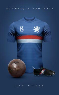 Futebol | Elegância & Sofisticação  Olympique lyonnais - França