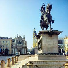 « ...provvistami in Torino una magnifica casa posta su la bellissima Piazza San Carlo, e ammobiliatala con gusto, mi posi a far vita da gaudente... » #Torino