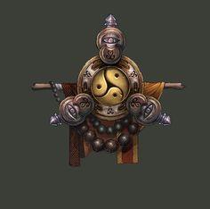 Monk - Diablo 3 concept art