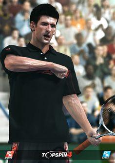 Novak Djokovic in Top Spin 4