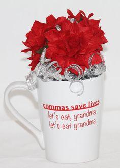 Funny Coffee Mug Custom Coffee Mug English by GlitterGlassAndSass