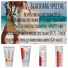 Beach Bag Special $92! ⭐️⭐️Beach Bag Special!⭐️⭐️ Good through 3/31!  Get yours now!  This is a limited time offer for $92 including Preferred Customer enrollment!  You will want to have these goodies!  Hurry!!!! ⭐️⭐️  Message me or text 281-220-9333  www.sdpulos.myrandf.com Rodan + Fields Makeup