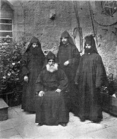 Armenian priests in Jerusalem