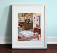 Monk's Cafe  Seinfeld von BeautifulPeaceEtsy auf Etsy, $18.00