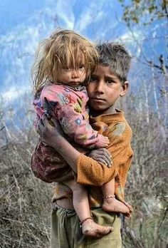 Ragged, tired, hungry and hopeless. Maybe they have heard about rich Americans that sponsor children. Poor Children, Precious Children, Save The Children, Beautiful Children, Syrian Children, Kids Around The World, People Around The World, Around The Worlds, Village Photography