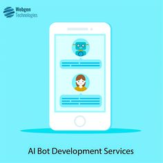 Following up with your leads, engaging prospective clients, qualifying customers or converting it into sales, you can do much more than that with our customized AI bot Development Services. #ConversationalAI #Chatbots #ArtificialIntelligence #BotPlatform #MachineLearning #BotDevelopment #BotBuildings #AI #ML #BusinessIntelligence #Bot #GrowthHacking #chatbotdevelopmentcompany #VirtualAssistants #chatbotdevelopment #ChatbotMarketingServices #ChatbotServices Business Intelligence, Machine Learning, Software Development, Blockchain, Apps, Technology, Tech, Tecnologia, App