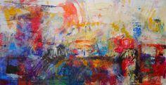 "nova pintura-""Novela Mexicana"" 2012  acrylic/oil on canvas  90x175 cm"
