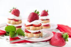 Easy Strawberry Shortcake Stacks