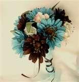 like the torquise flowers