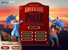 flash game play! Govenor of POKER 포커해서 돈벌자! 포커 플래시게임 하기