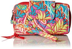 Vera Bradley Smartphone Wristlet for Iphone 6, Paisley in Paradise