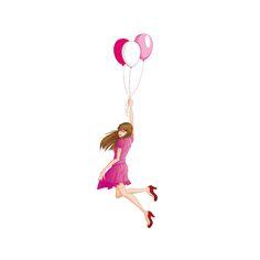 la fille volante free printables