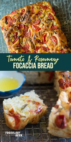 The focaccia bread is especially addictive if you're dipping it in a lovely olive oil. This bread makes a perfect appetizer to bring to a party. Not only is it gorgeous, everyone loves it! And you will seem like a five-star artisan baker.
