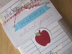 Embellishing Life: Teacher Gift ... personalized pencils
