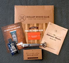 dollar shave club packaging - Google Search