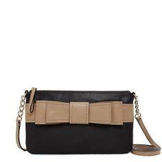 Kate Spade New York Villabella Avenue Celina Black Messenger Cross Body Bag | eBay