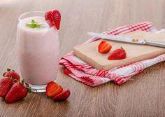 Smoothies με φράουλες