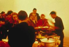 7 - Rikrit Tiravanija, Pad Thai 1990 (serving food)