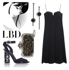 """Little Black Dress"" by forgottenmelody on Polyvore featuring Alexander Wang, Dolce&Gabbana, Oscar de la Renta and Eddie Borgo"