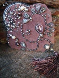 Embroidery Purse, Beaded Embroidery, Beaded Purses, Beaded Bags, Vintage Purses, Vintage Bags, Frame Purse, Unique Handbags, Art Bag
