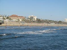 In Santa Monica, life's a beach
