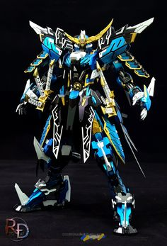 Custom Build: FM 1/100 Basara Sengoku Date Masamune Vidar - Gundam Kits Collection News and Reviews