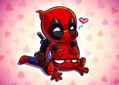 #spiderman #deadpool #aww