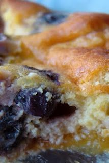 Nourished and Nurtured: Peach Blueberry Clafoutis (GAPS-legal, grain- and gluten-free)