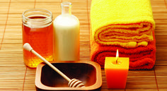 honey and milk spa - beauty treatment