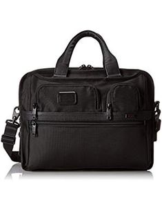 Tumi Alpha T Pass Expandable Laptop. * Learn more by visiting the image link. (This is an affiliate link) Best Handbags, Fashion Handbags, Computer Bags, Tumi, Briefcase, Laptops, Image Link, Stuff To Buy, Black