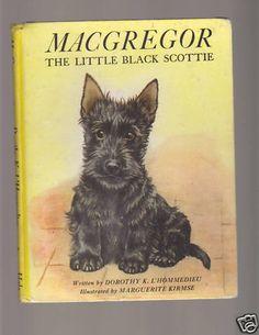 MacGregor Vintage Scottie Dog Book Scotty Scottish HC Dustjacket Illustrated Bon   eBay
