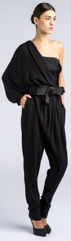 I am so long waisted, I could never wear a jumpsuit. Although honestly this is the first one I've actually wanted to....