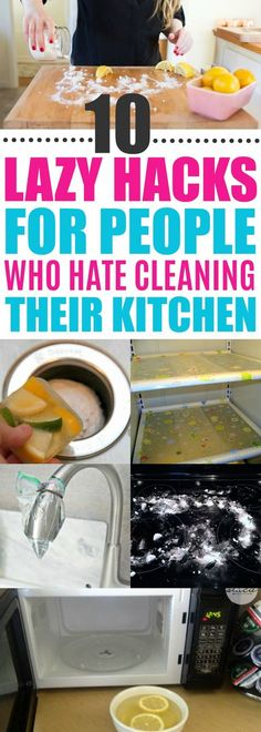 Kitchen Cleaning Hacks, Cleaning Tips For Kitchen