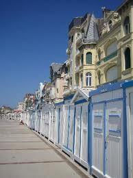 Wimereux et ses célèbres cabines de plage