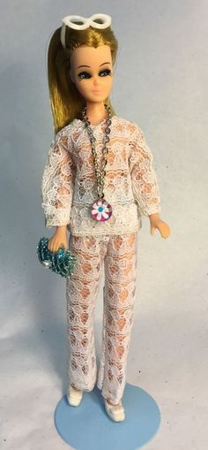Vintage Topper Dawn Doll H11A In 2PC Clone Fashion w/Accessories