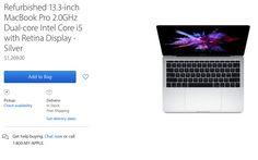 สินค้า Refurbished Macbook Pro วางขายบน Apple store – Com250