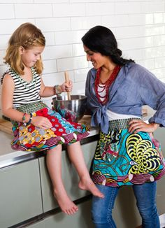 Jennifer's Apron from @Noonday Collection ... way cuter than a lot of the aprons at market #noondaystyle
