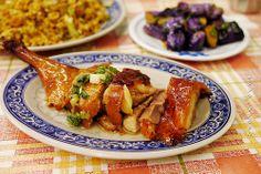 crispy roast duck drumstick | Taiwanese cuisine