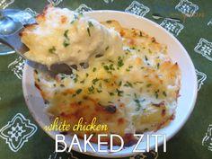 White Chicken Baked Ziti