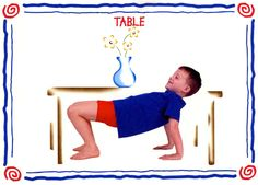 table modèle Physical Education, Physical Activities, Activities For Kids, Baby Yoga, Baby Gym, Kundalini Yoga, Ashtanga Yoga, Yoga For Kids, Exercise For Kids