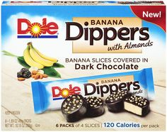 #SnackSmart: DOLE Banana Dippers. #SelfMagazine. Only 2 points on WW!