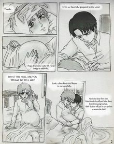 Shingeki no kyojin erenxlevi mpreg part 4