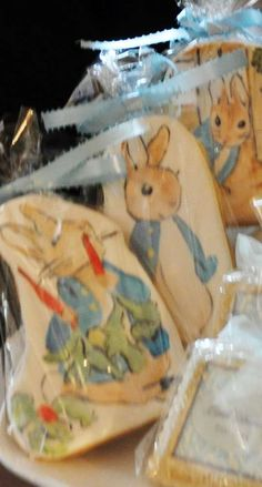 Vintage Peter Rabbit Christening Party | CatchMyParty.com