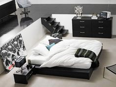 Unique Black And White Bedrooms Ideas Interior Design - GiesenDesign