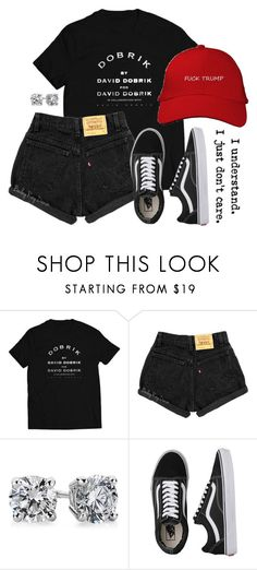"""Untitled #520"" by jenxorose ❤ liked on Polyvore featuring Blue Nile and Vans"