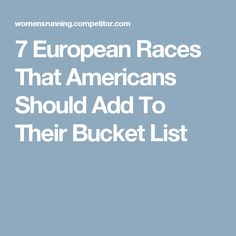 7 European Races That Americans Should Add To Their Bucket List