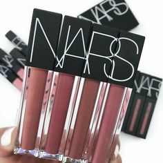 NARS Lip Gloss lavishes lips in a full spectrum of shades. Enriched with nourishing ingredients for long-lasting smooth, comfortable wear. The doe-foot applicator smoothly glides across lips with comfort and precision. Makeup Blog, Love Makeup, Beauty Makeup, Makeup Tips, Pretty Makeup, Perfect Makeup, Glam Makeup, Makeup Brands, Makeup Organization