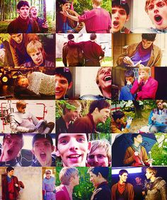 Bradley and Colin have way to much fun on the set of Merlin... I mean had... *tears*<--- NO NO NO NO TEARS!! You're the voice try and understand it! Make the noise and make it cleeeeaaaar whooooooaaaaaaa! WHOOOOAOAOAOOOOOO! We're not gonna sit in silence ! We're not gonna live with fear ✋✋! OHOOOHWHOAOOHWHOAOAO! OHOOOHWHOAOOHWHOAOAOOOO!!<- whoa Merlin Fandom. It's been hard hasn't it?