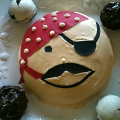 Pirate party cake!